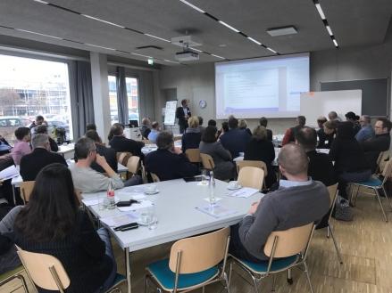 Während der Keynote von Ard Leferink über die selbstorganisierten Prlegekräfte bei Buurtzorg