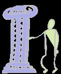 Säulen und Eckpfeiler