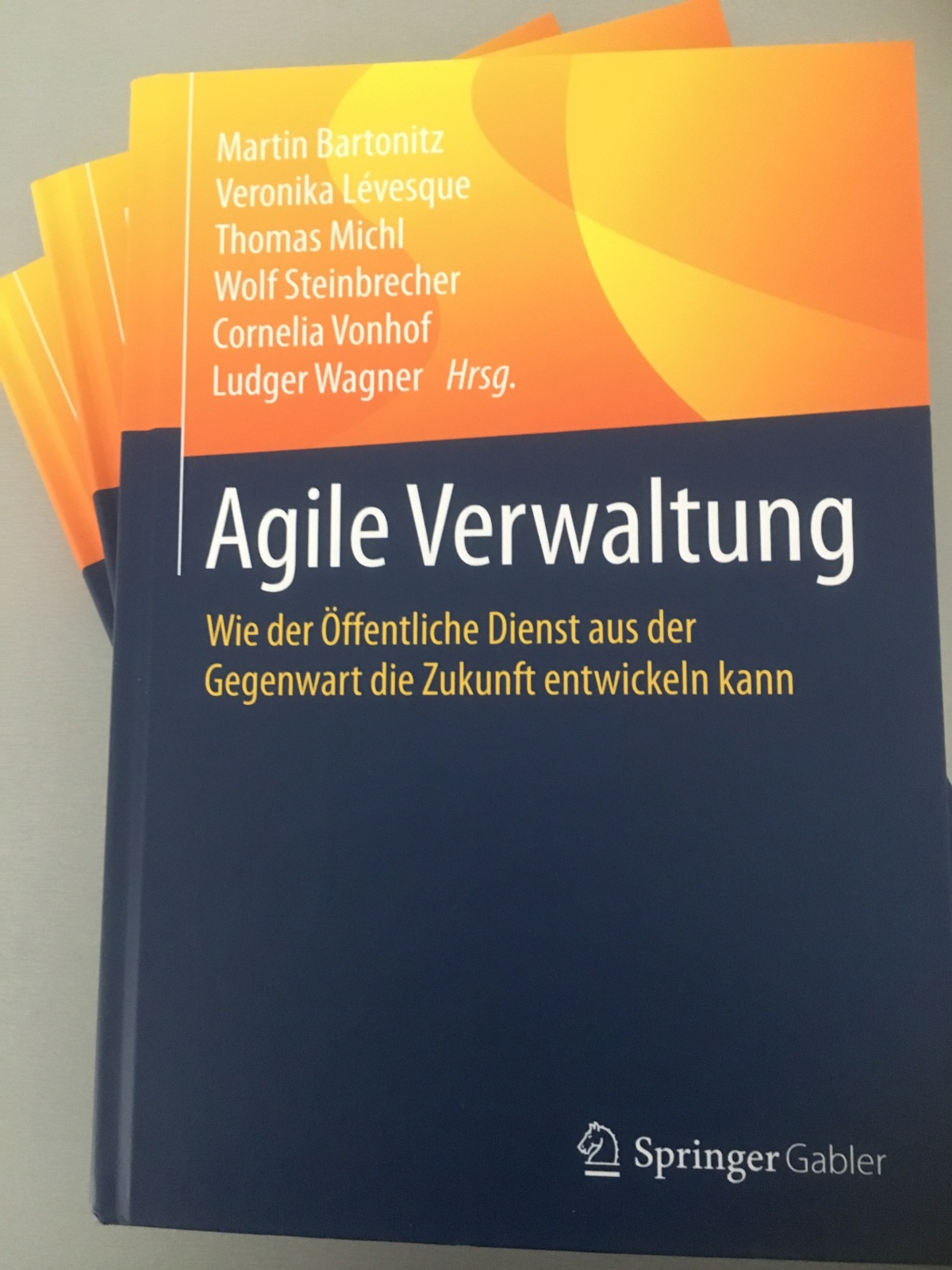 """Neu erschienen: das beste Buch über """"Agile Verwaltung"""""""