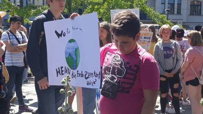 Die junge Generation fordert Ihre Zukunft ein!