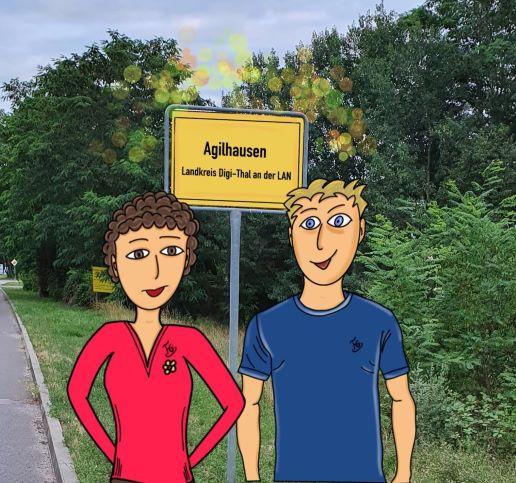In Agilhausen gehen die Lichteraus