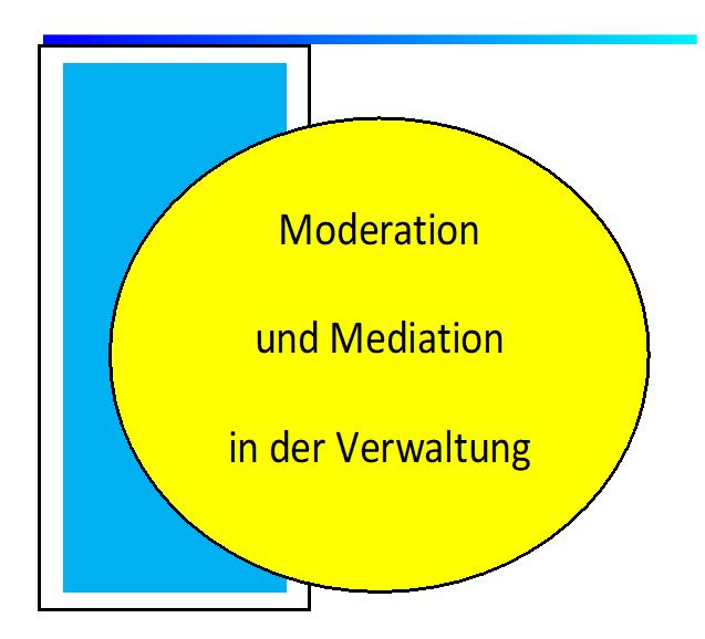 Moderation und Mediation in derVerwaltung