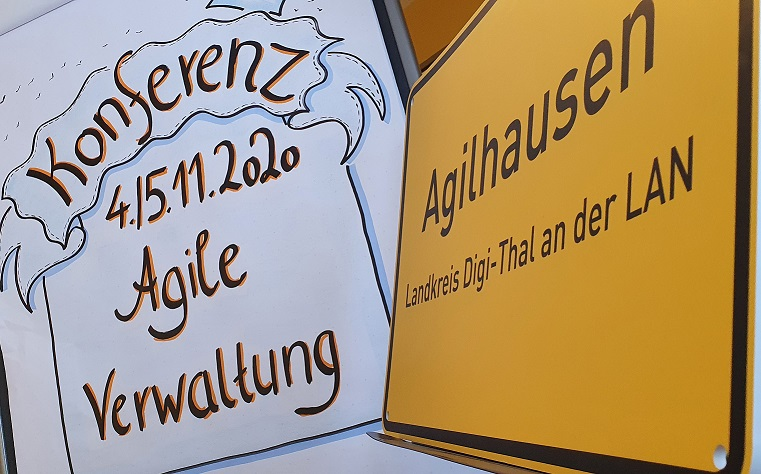 Konferenz Agile Verwaltung – Willkommen in Agilhausen –Nachlese