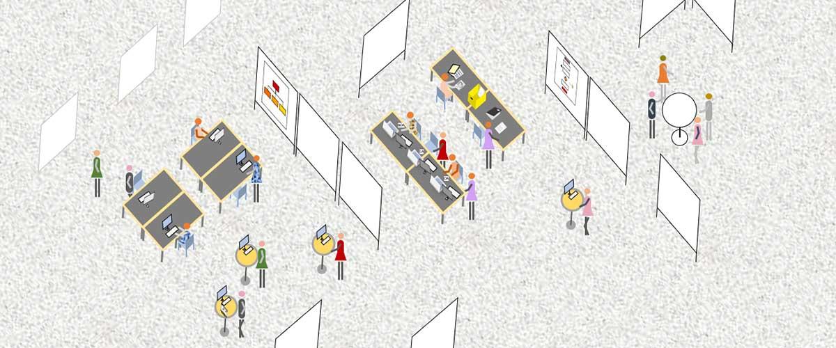 Digital Workplace: Mitstreiter*innen gesucht, die eine Vision vom digitalen Arbeitsplatz 2033entwickeln